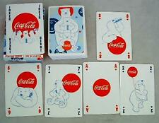 Coca-Cola Polar Bear Playing Cards