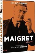 "DVD ""Maigret - Volume 2"" -Bruno Cremer   NEUF SOUS BLISTER"