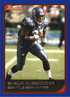 2006 Bowman Football Insert/Parallel Singles (Pick Your Cards)