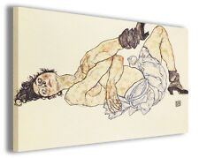 Quadro moderno Egon Schiele vol III stampa su tela canvas pittori famosi
