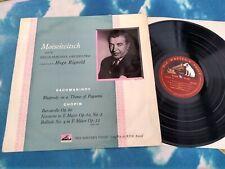CLP 1072 RACHMANINOFF CHOPIN Rhapsody Barcarolle MOISEIWITSCH HMV MONO LP
