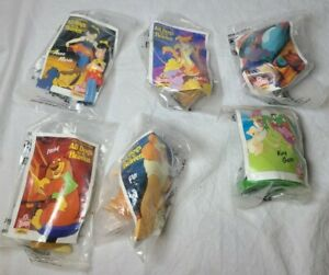 1989 All Dogs go to Heaven Toys Wendy's Kids Meal complete set of 6 New sealed