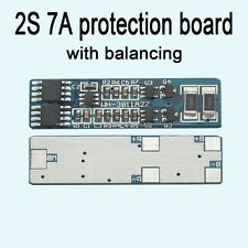2S 7A 7.4V li-ion lithium battery 18650 Charger protection board with balancing