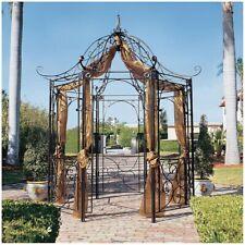10.5 Ft Octagonal Eye Catching Garden gazebo Architectural Arch Arbor Decor