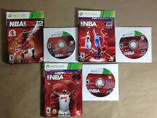 NBA 2K14 NBA 2K13 NBA 2K12 (Xbox 360) Sports Basketball Game Lot Bundle #2K17