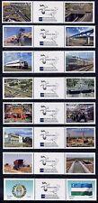 Usbekistan 2010 Asiatische Entwicklungsbank Eisenbahn Wirtschaft 857-894 MNH