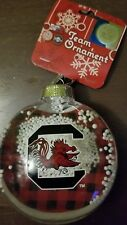 South Carolina Gamecocks Forever Collectibles Christmas Snow Globe Ornament  New