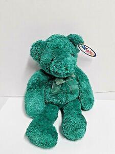 "Mary Meyer Plush Bears Green Evergreen Bear 14"" With Tags"