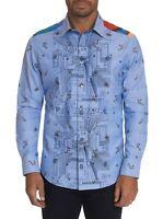 Robert Graham Happiness Awaits L/S Lmt Ed Sport Shirt, Classic Fit, Multicolored