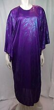 CA Costume Collection Unisex Pullover Robe Childs Large Purple Glitter Sparkle
