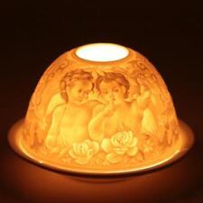 """Photophore éclairage d'ambiance porcelaine """" Chérubins """""""