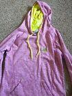 Ivory Ella Dry-Fit Hoodie Purple Yellow Digital Camo Women's Medium