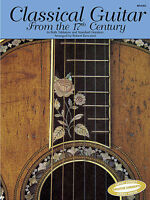 Classical Pieces Guitar from the 17th Century Learn to Play TAB Music Book LEARN