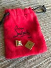 2 X CHRISTIAN LOUBOUTIN GOLD REPLACEMENT SPIKE STUDS FOR WOMENS CATACLOU HEELS