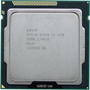 Intel Xeon E3-1270 V1 (SR00N) 3.40GHz 4-Core LGA1155 CPU