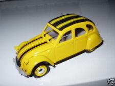 2cv3e Voiture 1/43 NOREV Citroën 2 CV N°10 Dolly blanche & verte