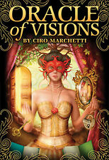 Oracle of Visions Deck NEW IN BOX Ciro Marchetti (Gilded Tarot) Cards US Games