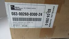 SOLA/HEVI-DUTY DC POWER SUPPLY CAT.NO.083-00260-0300-24