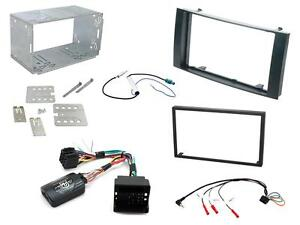 Connects2 CTKVW03 VW Touareg 03 - 10 Car Stereo Double Din Fascia & Steering Kit