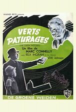 THE GREEN PASTURES Movie POSTER 27x40 Rex Ingram Oscar Polk Eddie 'Rochester'