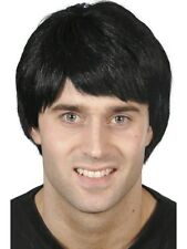 Guy Wig Black Short Fancy Dress Costume Accessory Quality Adults 42175 Smiffys