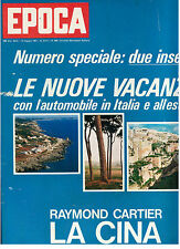 EPOCA N. 868 14 MAGGIO 1967 FORMULA 1 LORENZO BANDINI SOPHIA LOREN PRIMO CARNERA