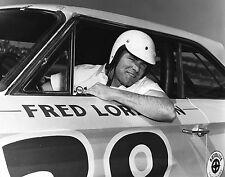 New listing BEAUTIFUL NASCAR HALL OF FAMER FRED LORENZEN 8X10 PHOTO W/BORDERS