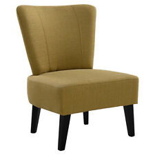 Armless Accent Chair Upholstered Seat Dining Chair Living Room Furniture New