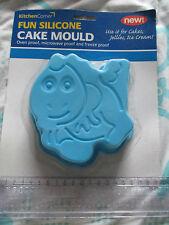 Blue Fish A FORMA DI STAMPO IN SILICONE CAKE