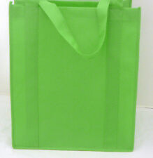 Reusable GROCERY BAG - LIME GREEN - Large Size Recyclable Shopping Tote