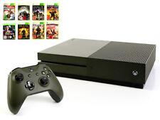 Microsoft XBOX ONE S Konsole 1TB MILITARY GREEN +Controller +Spiel Grün USK18