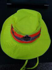 Chill-Its 8935Ct Evaporative Cooling Ranger Hat Hi Vis Lime Large/ Xl