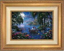 Thomas Kinkade Little Mermaid II 12 x 18 LE G/P Canvas (Gold Frame) Disney