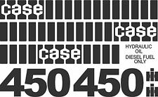 Reproduction Case 450 dozer Old Style decal kit