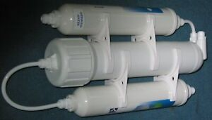 Portable 3 Stage Reverse Osmosis Water Filter System with Alkalising Filter