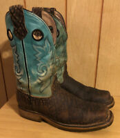 Double H Mens Tusce Birch Elephant Print Comp Toe Boot DH3569 10D Work Made USA