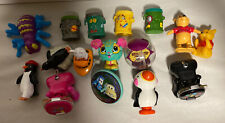 Lot of 16 McDonald's, Happy Meal, Burger King,Disney And Other Toys