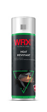 WRX High Heat Resistant Lacquer Spray Paint 400ml (Black) BBQ, Stove, Stovepipes