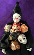 Clown With Many Faces - Six Masks