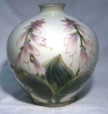 More details for cobridge stoneware  pottery   vase hosta  mib
