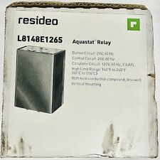 Resideo L8148e 1265 Aquastat High Limit Relay New Sealed In Box