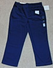 NWT Navy Blue CROFT & BARROW WOMEN'S CLASSIC FIT BELOW THE KNEE CAPRI SZ 4