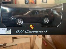 1/18 BBURAGO 1997 PORSCHE 911 (996) CARRERA 4 COUPE BLACK