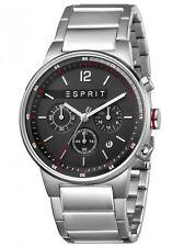 Esprit Equalizer Black Silver MB Chronograph Herrenuhr Edelstahl ES1G025M0065