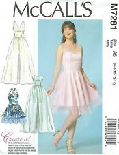 McCall's 7281 Misses' Dress Sewing Pattern