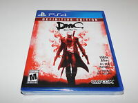 DMC Devil May Cry Definitive Edition Playstation 4 PS4 Brand New Factory Sealed