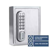 masunt 1140 E Code - Schlüsselsafe Schlüsselbox Schlüsseltresor Edelstahl Außen
