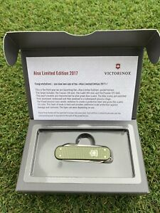 Victorinox Green  Alox Classic 2017 Limited Edition. New in Box
