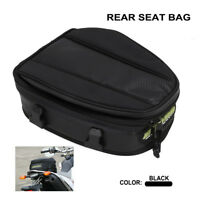 New Waterproof Motorcycle Rear Tail Back Seat Bag Luggage Package Carry