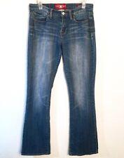 Lucky Brand Sofia Boot Jeans Women's Size 8/29 Denim Medium Wash Cotton Distress